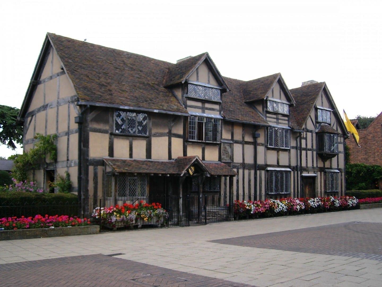 El lugar de nacimiento de Shakespeare Stratford-upon-Avon Reino Unido