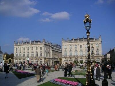 El lugar Stanislas. Nancy Francia