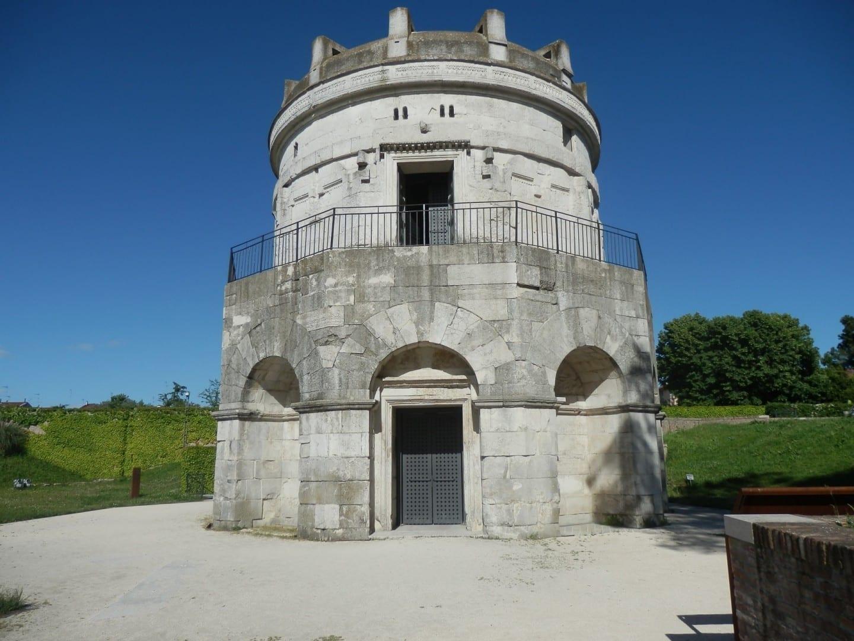 El Mausoleo de Teodoro Ravenna Italia