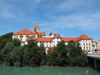 El Monasterio De San Mang Füssen Lech Alemania