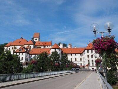 El Monasterio De San Mang Füssen Lechhalde Alemania