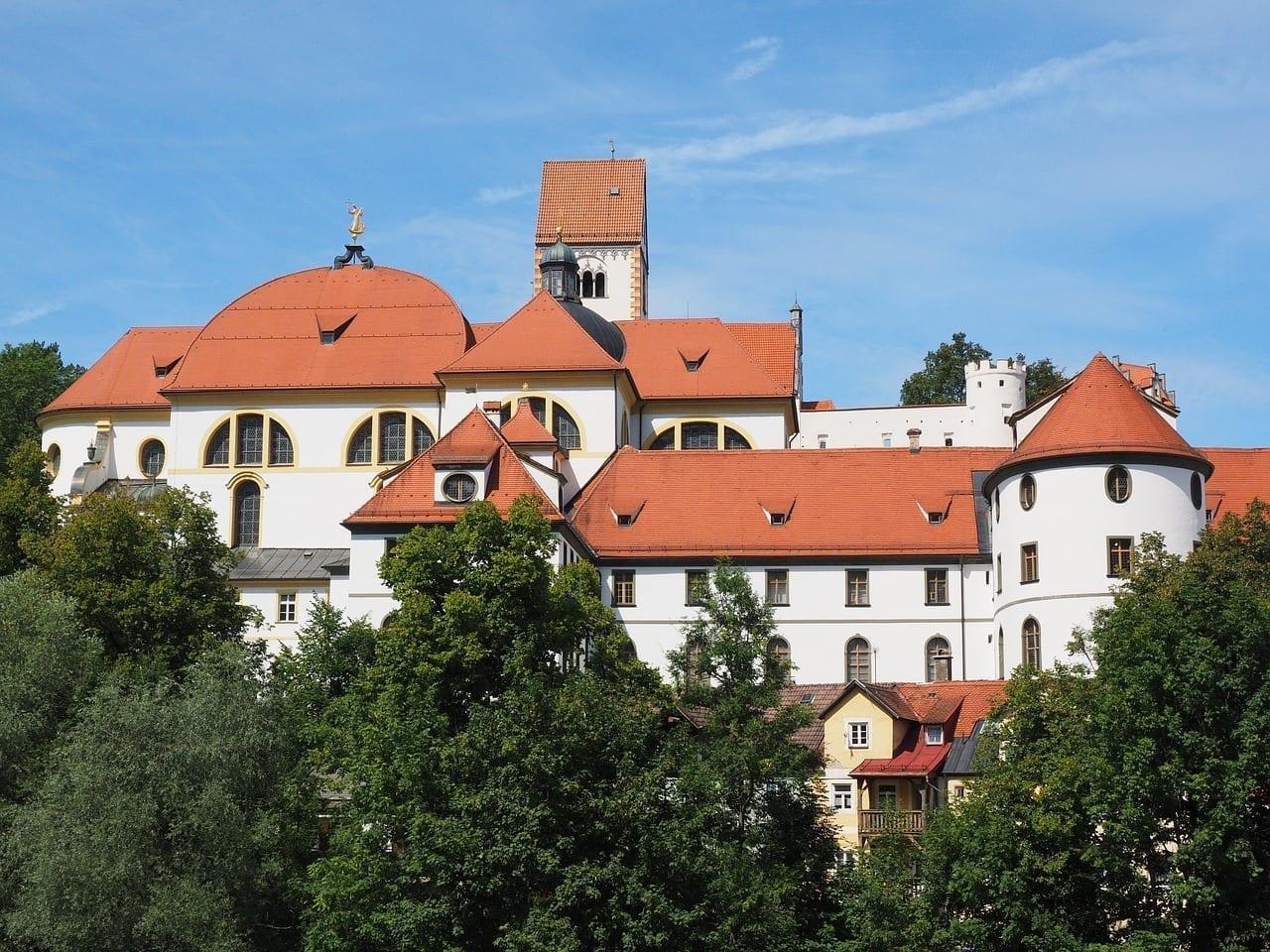 El Monasterio De San Mang Füssen Monasterio Alemania