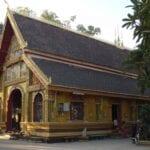 El monasterio de Wat Si Muang en Vientiane Vientiane República Democrática Popular Lao