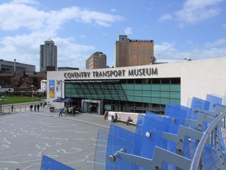 El Museo del Transporte de Coventry Coventry Reino Unido