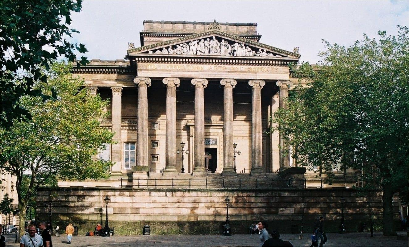 El museo Harris es un edificio protegido de primer grado... Preston Reino Unido