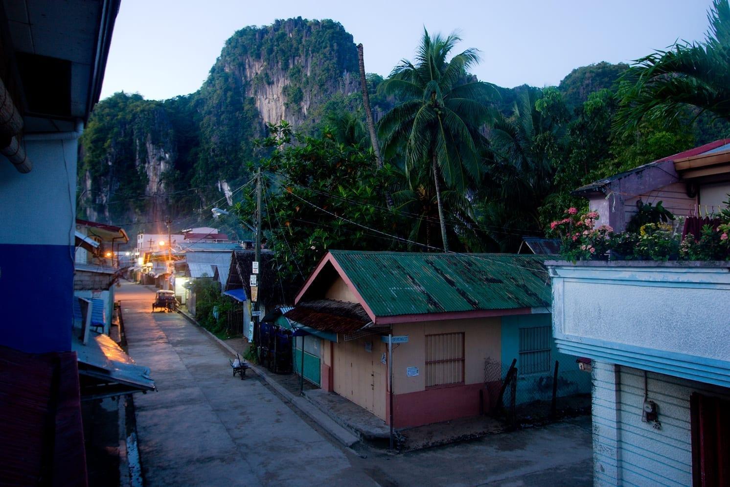 El Nido al amanecer El NIdo Filipinas