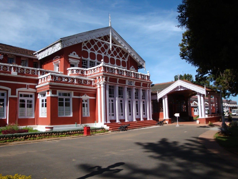 El palacio de Fernhills Ooty India