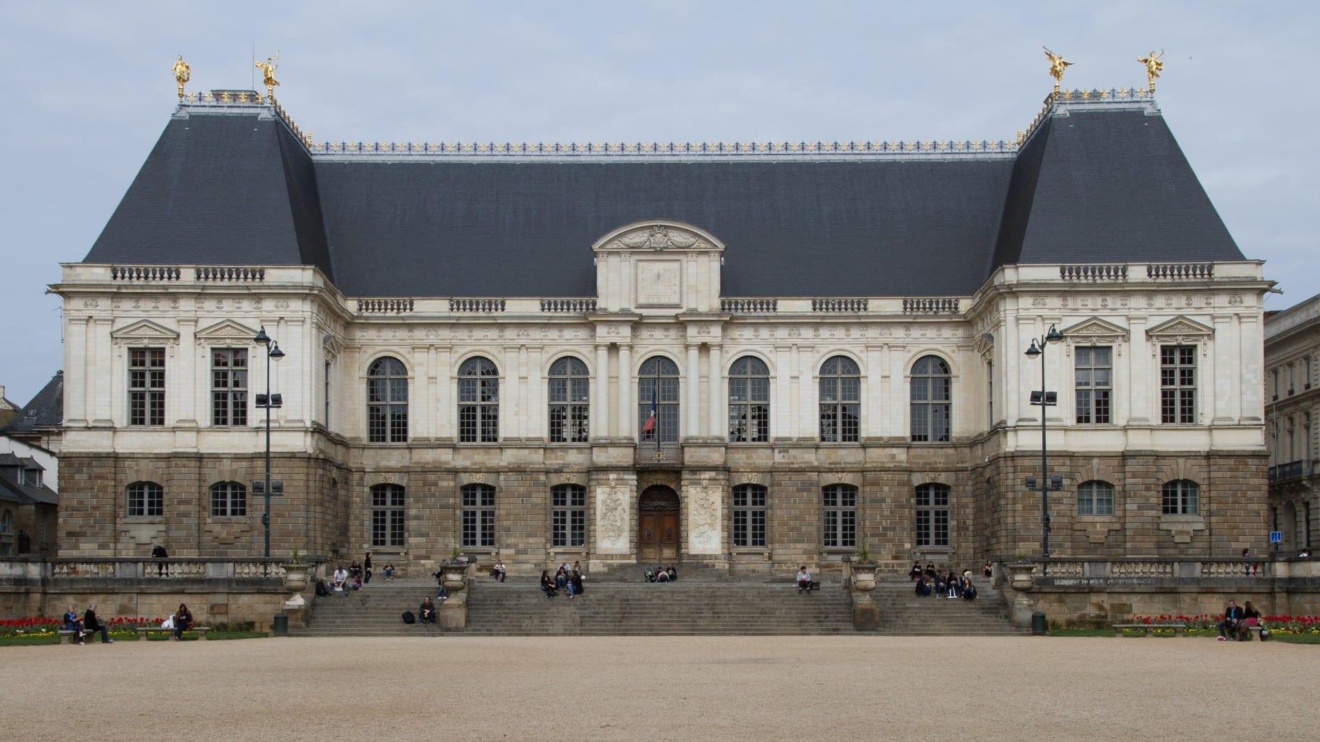 El Parlamento de Bretaña Rennes Francia