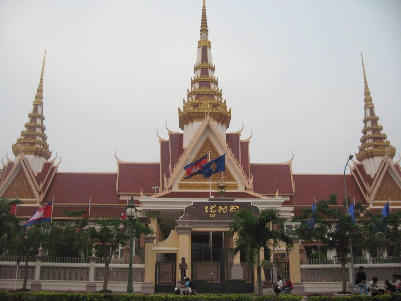 El Parlamento de Camboya Pnhom Penh Camboya
