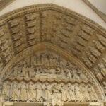 El portal de la catedral de Saint-Etienne de Metz Metz Francia