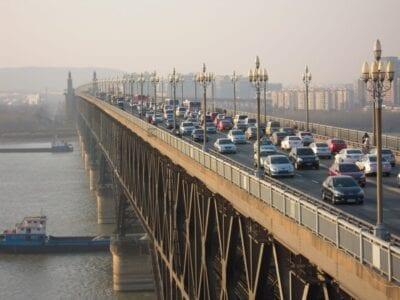 El puente del río Yangtsé de Nanjing Nanjing China