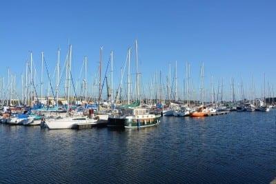 El Puerto De Saint Malo Bretaña Barcos Francia