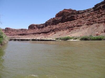 El río Colorado cerca del Parque Nacional Canyonlands Canyonlands Parque Nacional Estados Unidos
