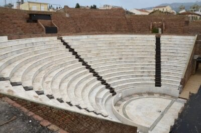 El restaurado Odeón Romano de Patra Patras Grecia