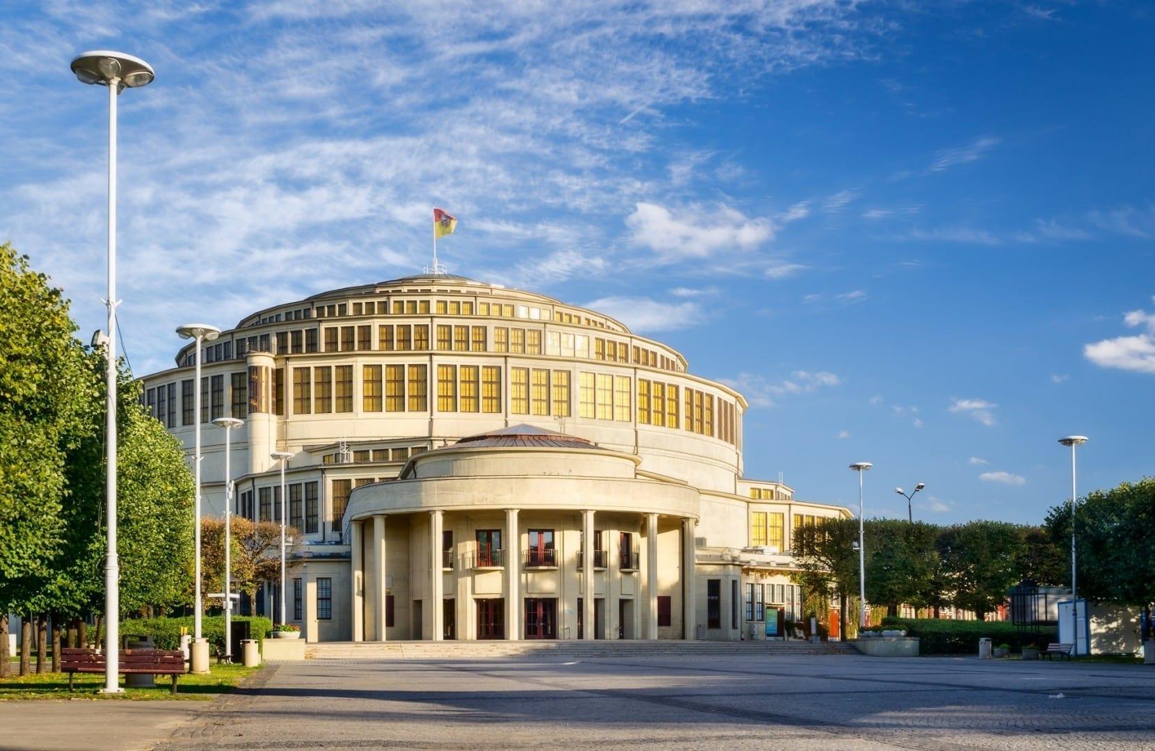 El Salón del Centenario Breslavia Polonia