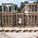 El teatro romano Mérida España