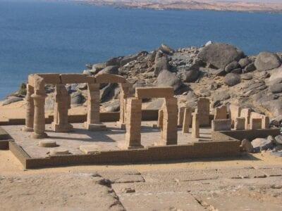 El templo de Gerf Hussein Asuán Egipto