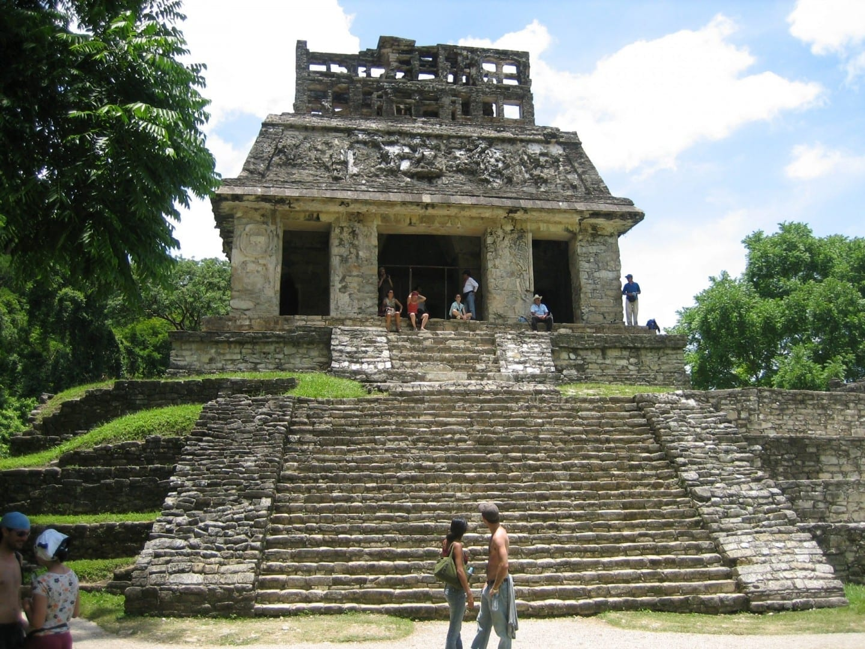 El templo de Palenque Palenque México