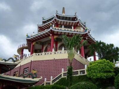 El Templo Taoísta refleja la herencia china de Cebú. Cebu Filipinas