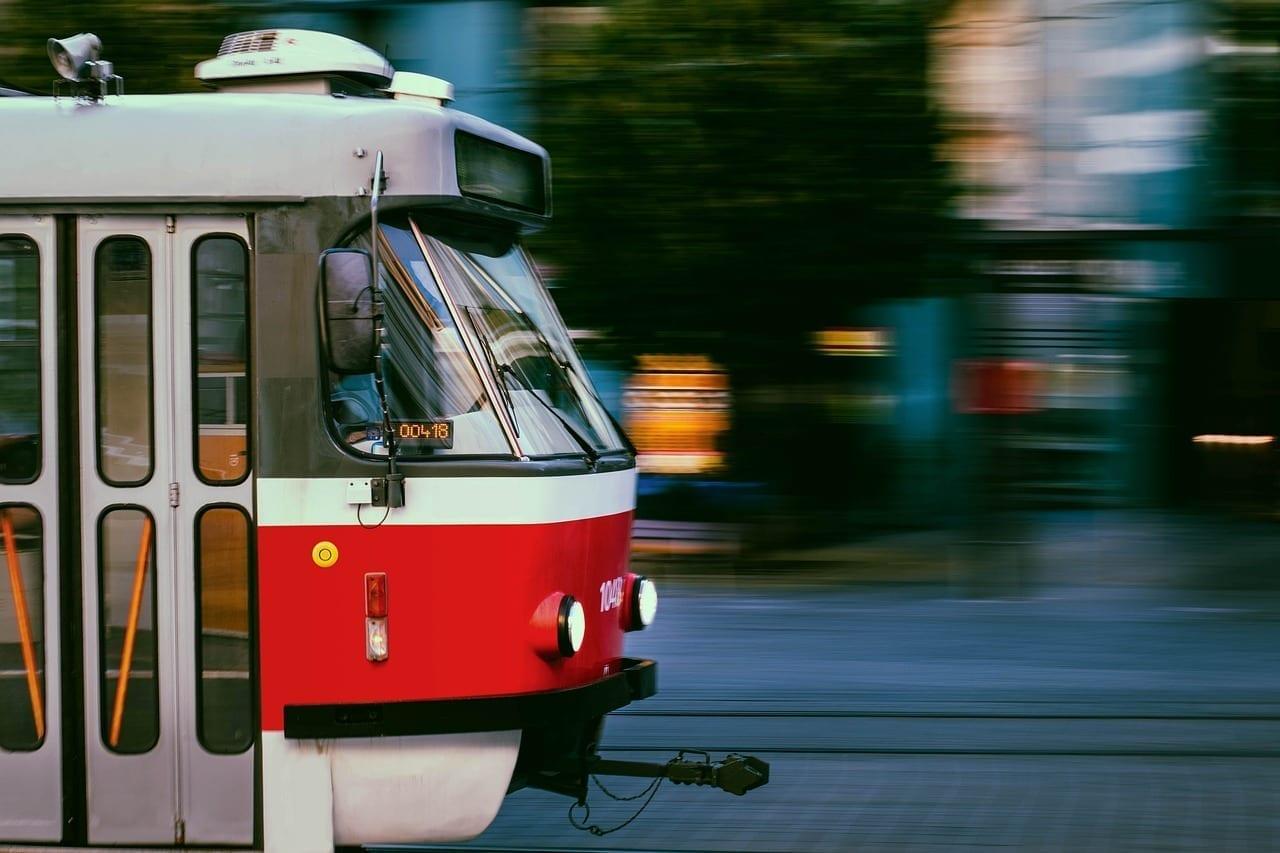 El Tranvía Brno República Checa Ciudad República Checa