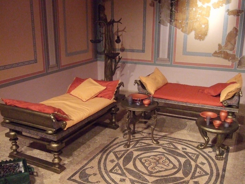 El Triclinium romano restaurado en Zaragoza Zaragoza España