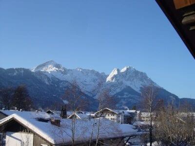 El Zugspitze es el punto más alto de Alemania. Garmisch-Partenkirchen Alemania
