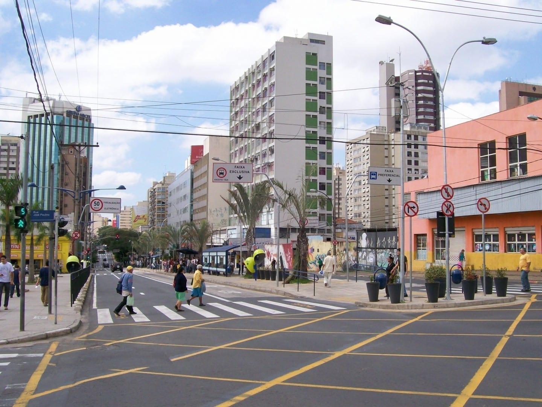 En el centro de Campinas. Campinas Brasil