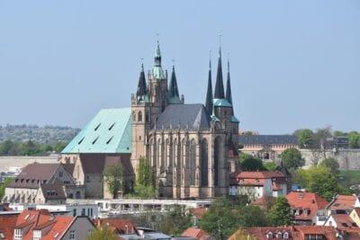 Erfurt Dom Arquitectura Alemania