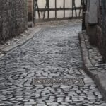 Erfurt Turingia Alemania Callejón Alemania