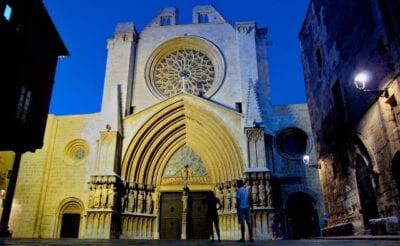 España Tarragona Abendstimmung España