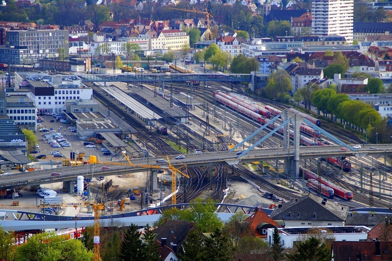 Estación De Ferrocarril Ulm Estación Central Alemania