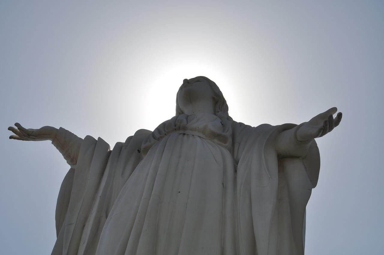Estatua Santiago De Chile Hito Chile