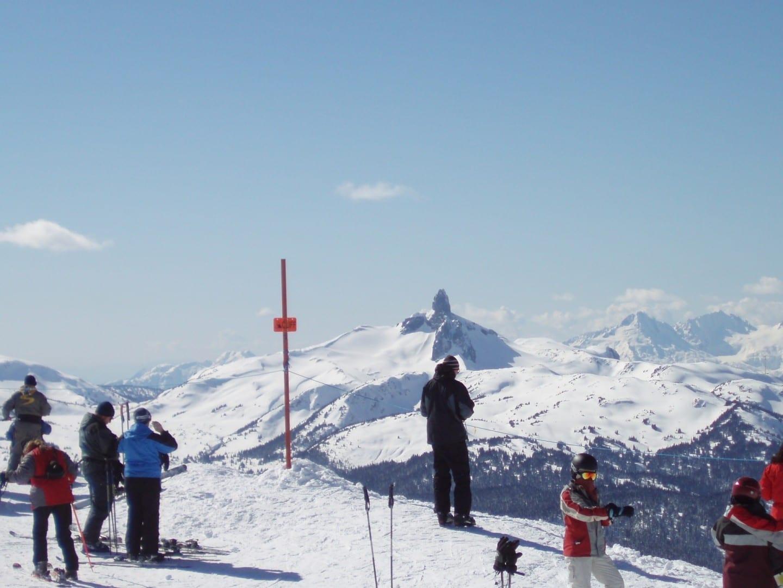 Excelente esquí. Whistler Canadá