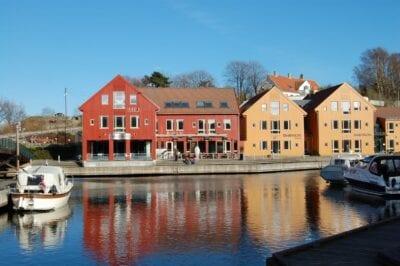 Fiskebrygga, Kristiansand. Kristiansand Noruega