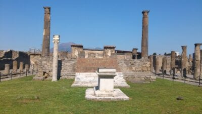 Foro Pompei Italia