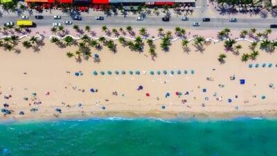 Fort Lauderdale Florida Mar Estados Unidos