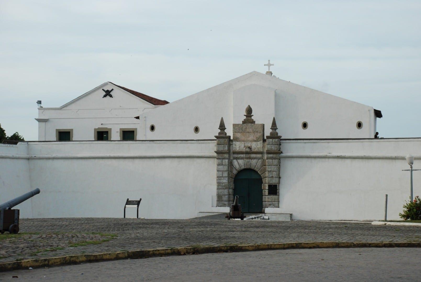 Fortaleza de Brum (siglo XVII). Recife Brasil