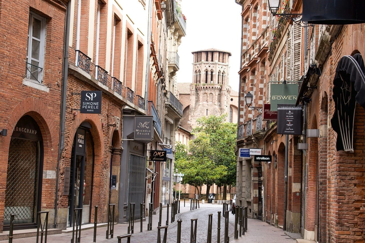 Francia Toulouse Arquitectura Francia
