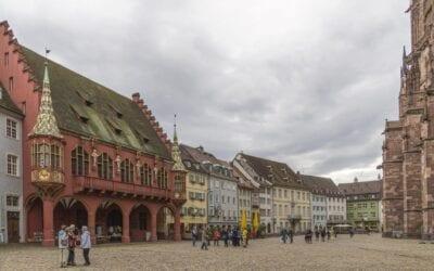Friburgo tiene un encantador casco antiguo Freiburg im Breisgau Alemania