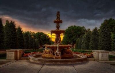 Fuente De Agua Broadmoor Hotel Colorado Springs Estados Unidos