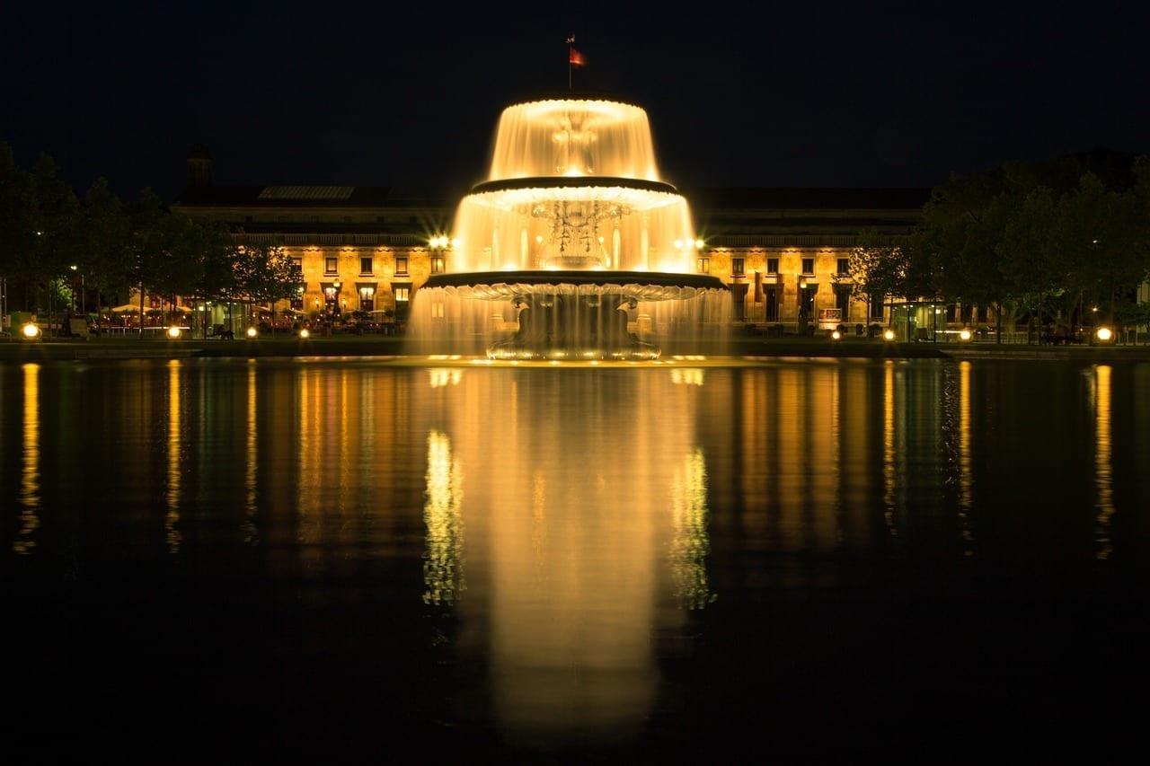Fuente El Agua Wiesbaden Alemania