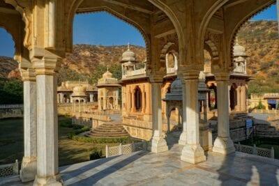 Gaitore Ki Chhatriyan La India Jaipur India