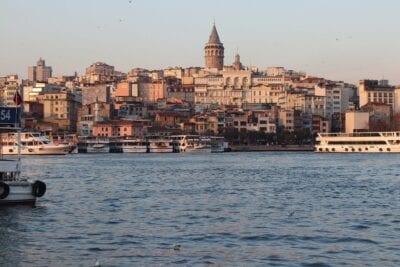 Galata Estambul Marinos Turquía