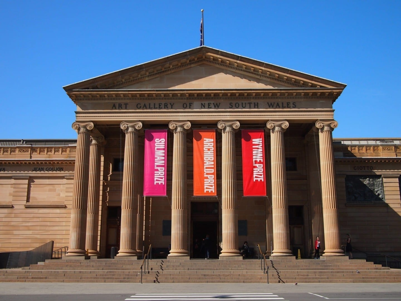 Galería de arte de Nueva Gales del Sur Sídney Australia
