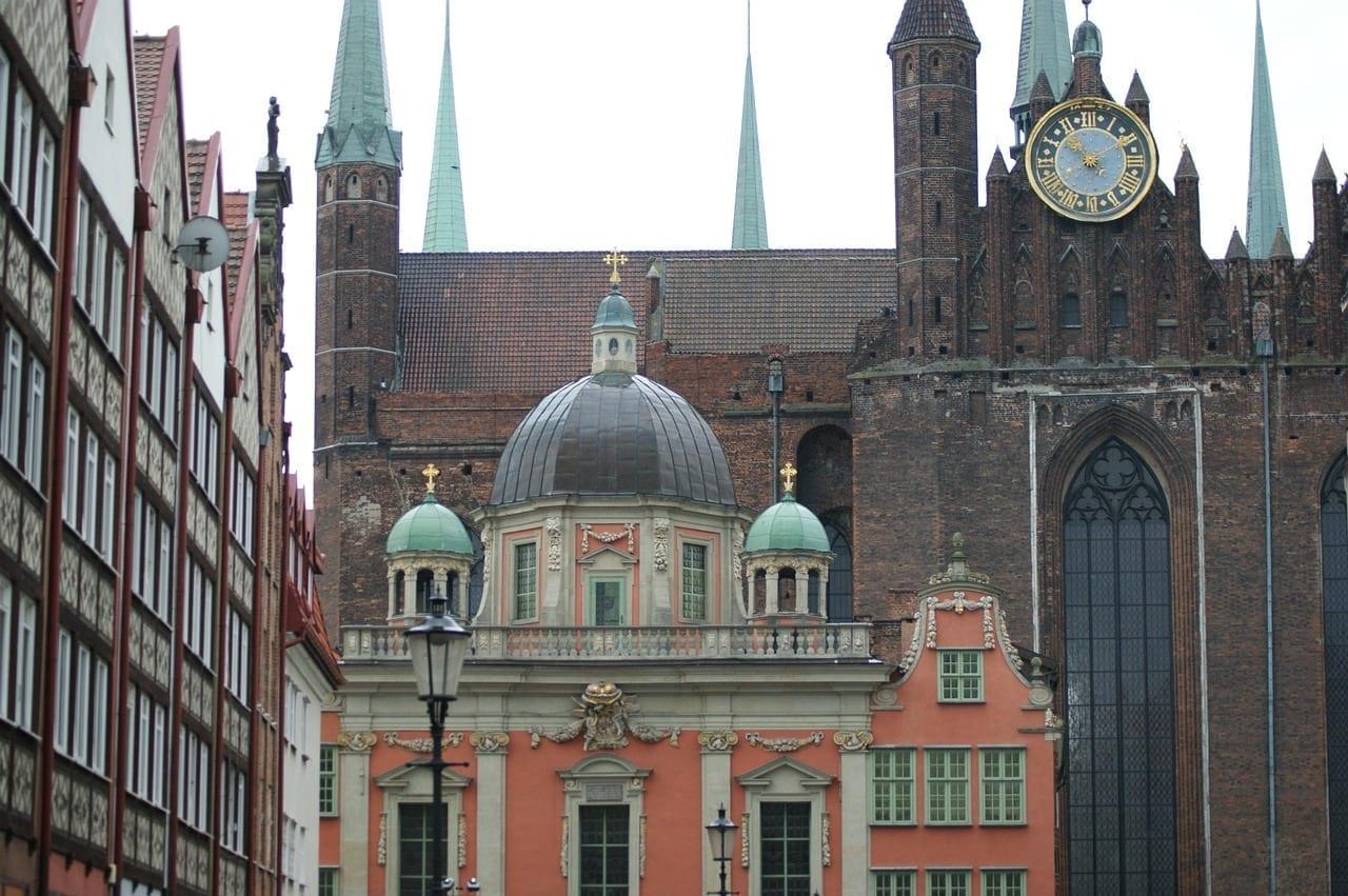 Gdansk Polonia Edificios Polonia