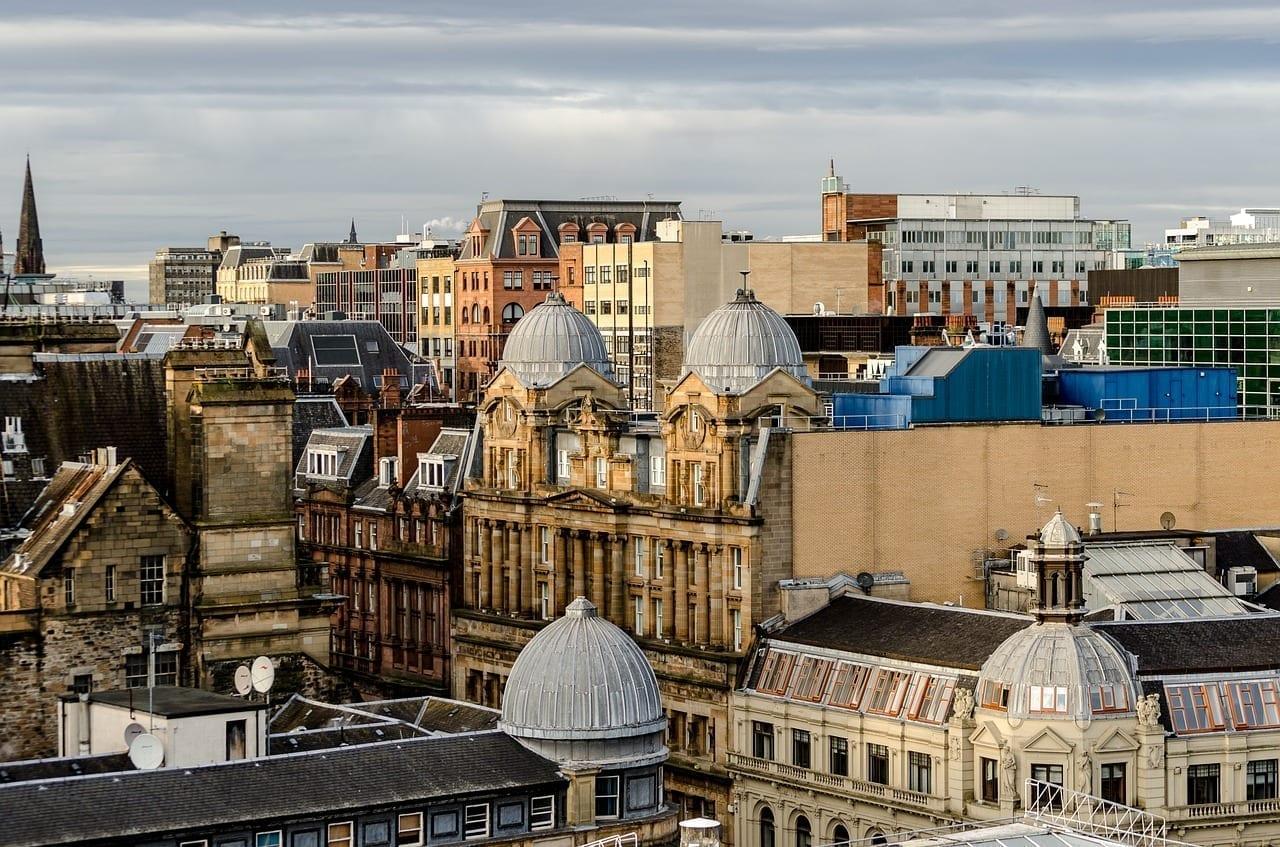 Glasgow Escocia Ciudad Reino Unido
