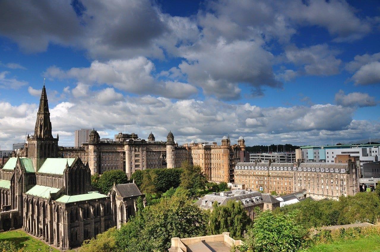 Glasgow La Catedral Iglesia Reino Unido
