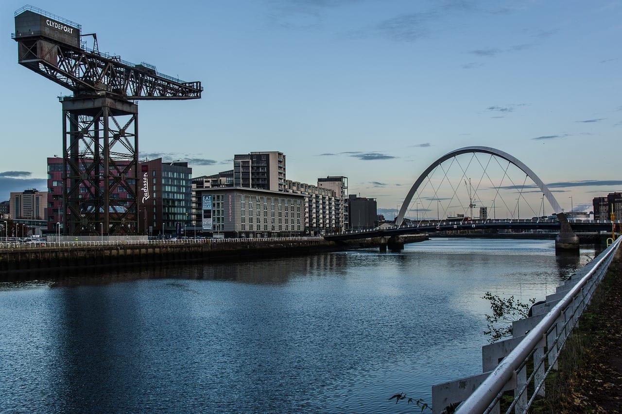 Glasgow Puerto Arquitectura Reino Unido