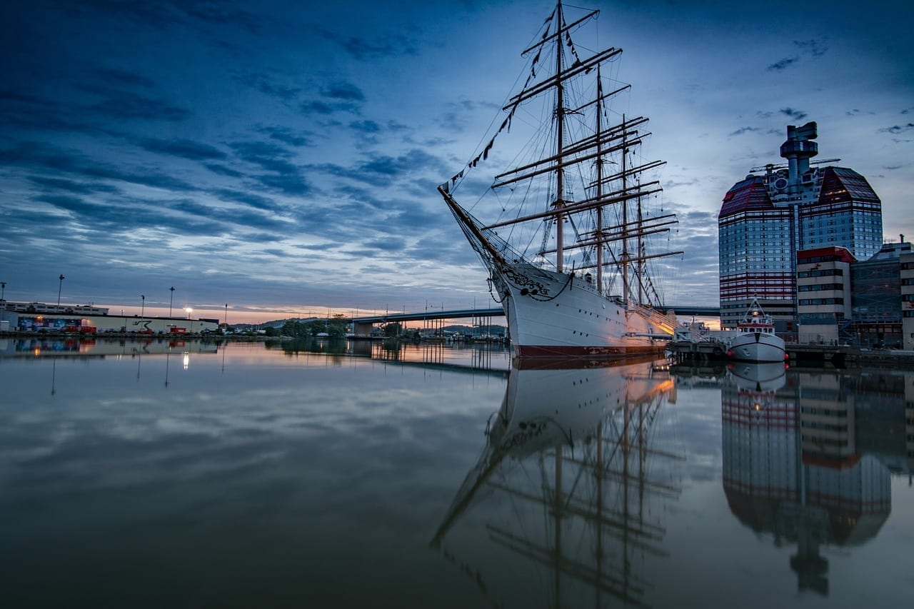 Gotemburgo Mar Costera Suecia