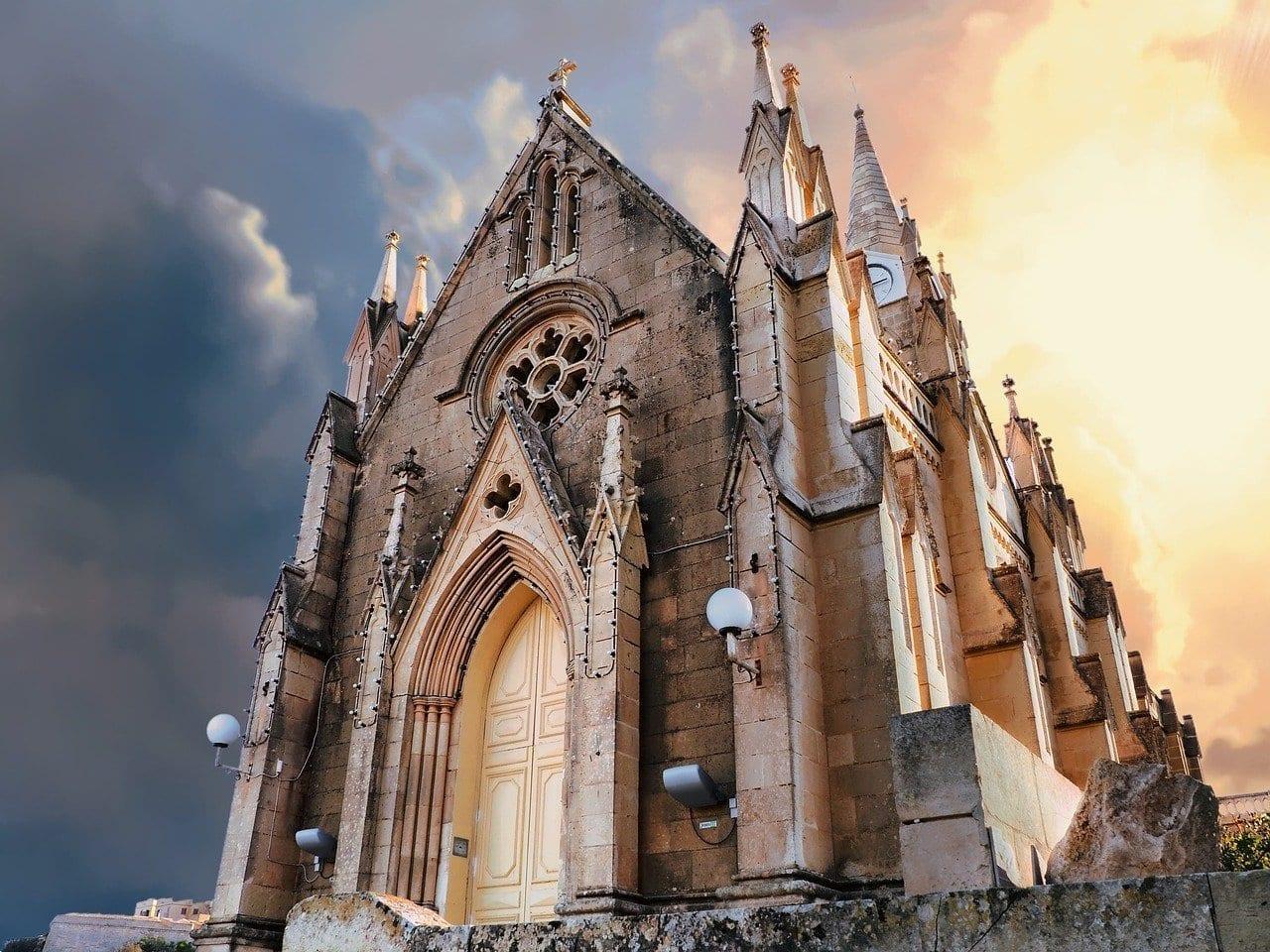 Gozo Iglesia Lourdes Malta